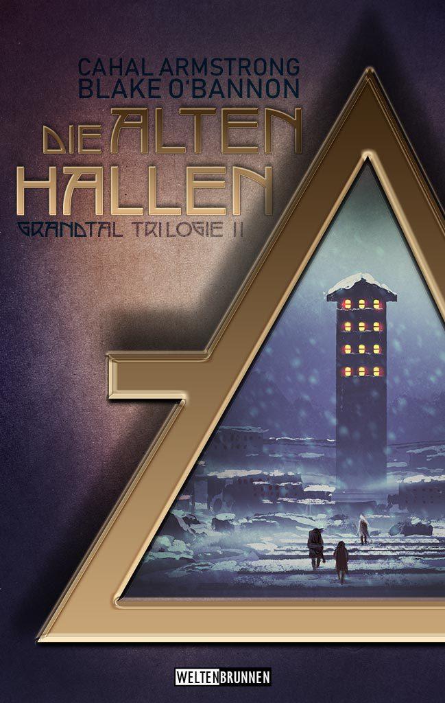 """Buchcover """"Die Alten Hallen"""""""